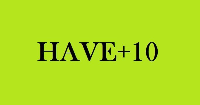 HAVE и 10 его производных